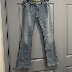 Hollister Light Wash Flare Jeans